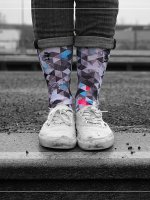 LUF SOX Socks Geogram colored