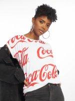 Merchcode T-Shirt Coca Cola white