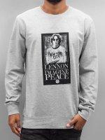 Mister Tee Pullover John Lennon Imagine gray