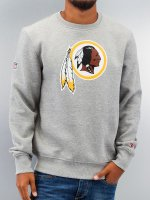 New Era Pullover Team Logo Washington Redskins gray