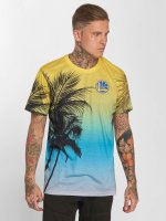 New Era T-Shirt NBA Coastal Heat Golden State Warriors colored