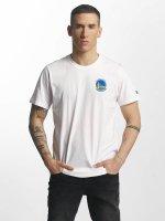 New Era T-Shirt Tip Off Golden State Warriors Chest white