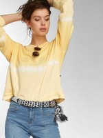 Noisy May Pullover nmChris Dip Dye yellow