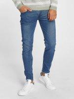 Only & Sons Skinny Jeans onsWarp Raw Hem blue