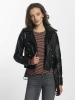 Only Leather Jacket onlLaura black