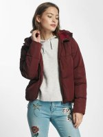 Only Puffer Jacket onlCille Quilted red