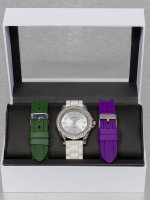 Paris Jewelry Watch Set white