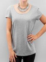 Pieces T-Shirt Emma gray