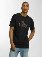 Quiksilver T-Shirt Classic Jungle Mountain black