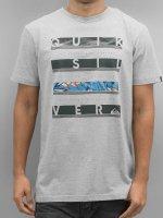 Quiksilver T-Shirt Read Between gray