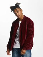 Rocawear Bomber jacket Retro Velour red