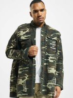 Sixth June Shirt Oversized Overshir camouflage