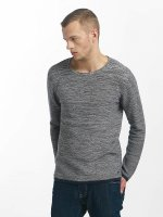 Solid Pullover Marius gray