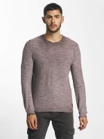 Solid Pullover Karli Knit purple
