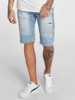 Southpole Short Denim Shorts blue