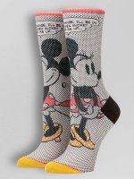 Stance Socks Tick Tock Minnie white