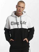 Thug Life Hoodie Koyote black