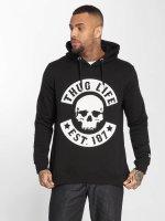 Thug Life Hoodie B.Skull black