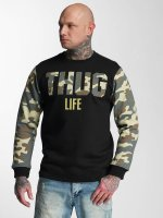 Thug Life Pullover Zombi camouflage
