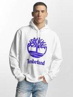 Timberland Hoodie Stacked Logo white