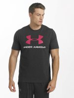Under Armour T-Shirt Charged Cotton Sportstyle Logo black