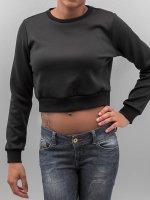 Urban Classics Pullover Scuba Cropped black