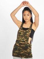 Urban Classics Tank Tops Ladies Camo Loose camouflage