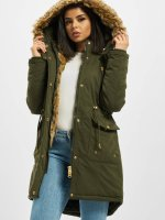 Urban Classics Winter Jacket omega olive