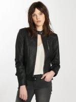 Vero Moda Leather Jacket vmCalifornia black