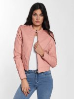 Vero Moda Leather Jacket vmAlice Short Faux Leather rose