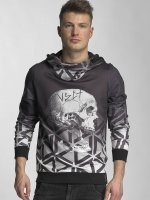 VSCT Clubwear Hoodie Twisted Skull Matix gray