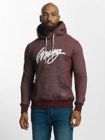Wrung Division Hoodie Heather Sign red
