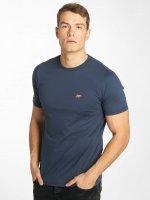 Wrung Division T-Shirt Backer blue
