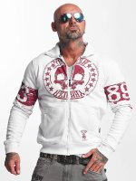 Yakuza Lightweight Jacket Skull Label white