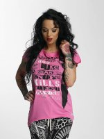 Yakuza T-Shirt Sharp Knife Limpid pink