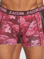 Zaccini Boxer Short Winter Flower red