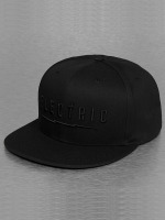 Electric Snapback Cap UNDERVOLT black
