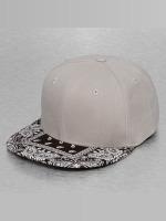 Decky USA Snapback Cap Bandanna gray