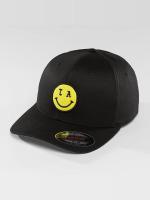 Mister Tee Flexfitted Cap LA Smile black