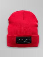 Mister Tee Hat-1 Twenty One Pilots Logo red
