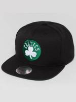 Mitchell & Ness Snapback Cap Wool Solid NBA Boston Celtics black