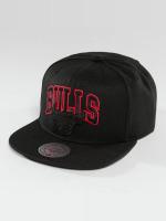 Mitchell & Ness Snapback Cap Red Pop Chicago Bulls black