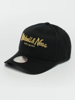 Mitchell & Ness Snapback Cap The Black And Golden 110 black