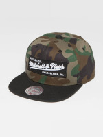 Mitchell & Ness Snapback Cap Own Brand Box Logo camouflage