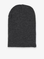 MSTRDS Hat-1 Basic Flap Long gray