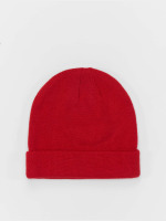 MSTRDS Hat-1 Short Cuff Knit red