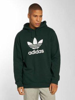 adidas originals Hoodie Trefoil green