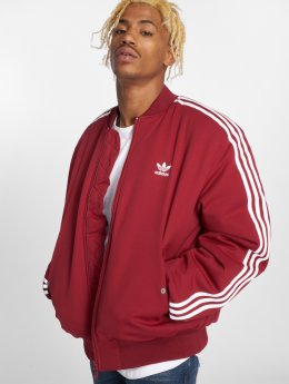 adidas originals Lightweight Jacket Ma1 Padded Transition red
