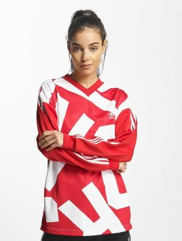adidas originals Longsleeve Oversized Track red