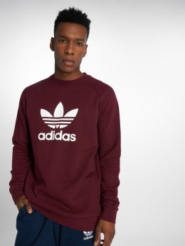 adidas originals Pullover Trefoil Crew red